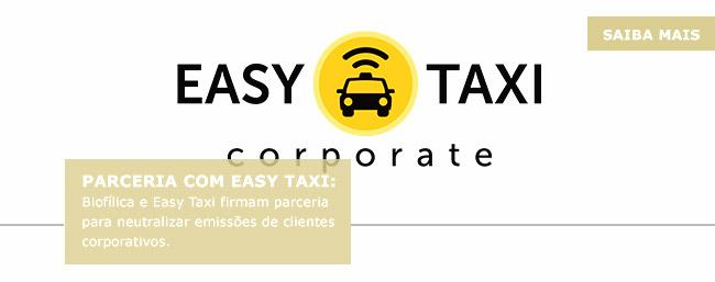 Parceria com Easy taxi